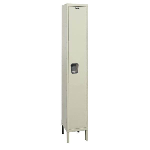 Maintenance-Free 1 Tier 1 Wide School Locker by Hallowell| @ $327.99