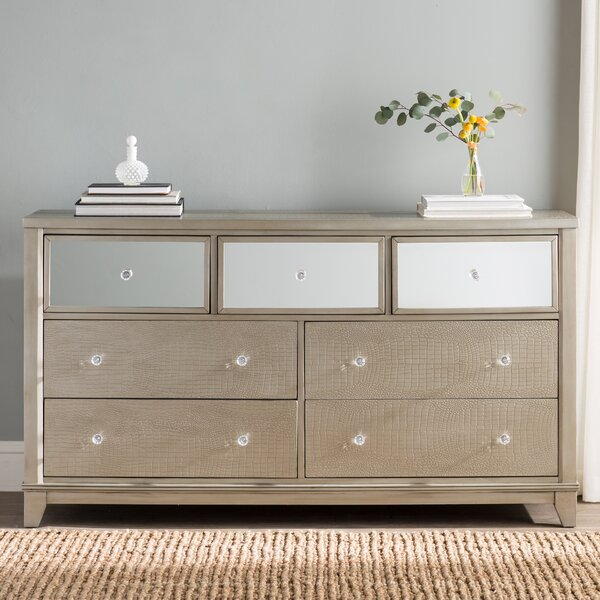 Rogers 7 Drawer Wood Dresser by Willa Arlo Interiors