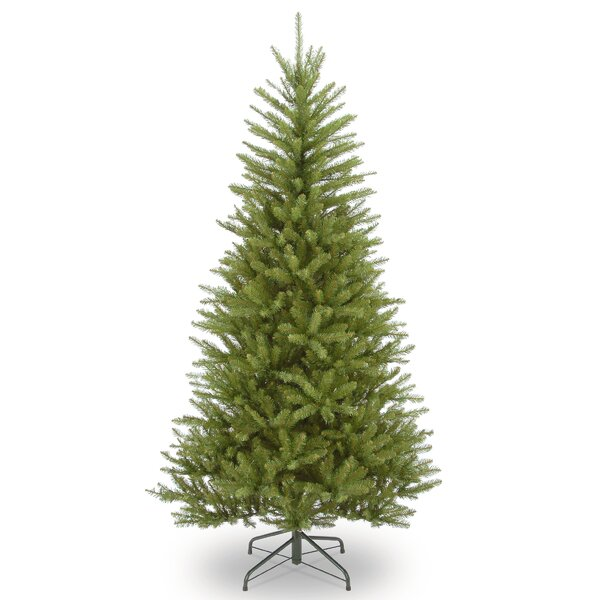 Dunhill Slim Green Fir Artificial Christmas Tree with Stand by The Holiday Aisle