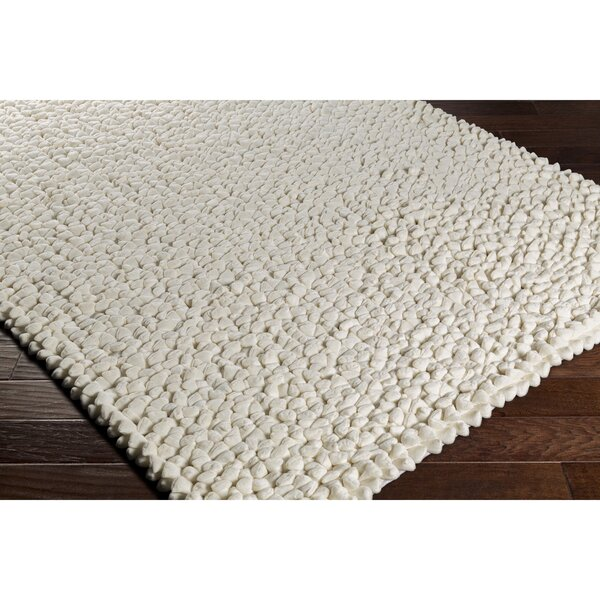 Cosima Hand-Crafted Neutral Area Rug by Darby Home Co