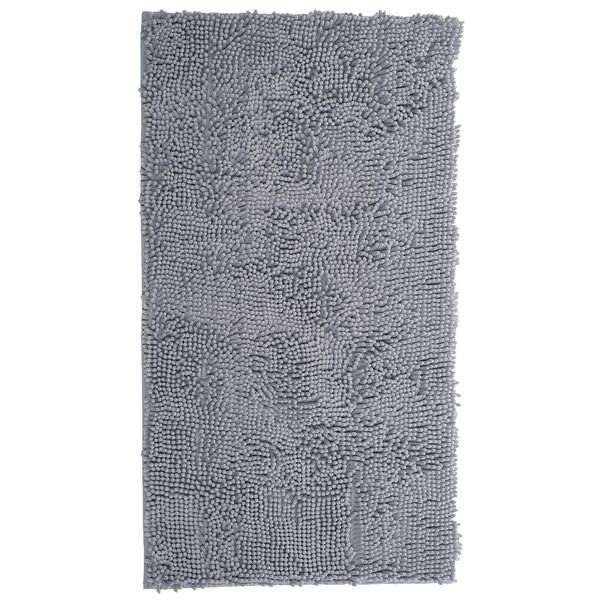 High Pile Gray Area Rug by Lavish Home