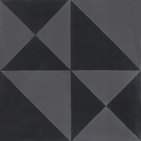 Origami 8 x 8 Cement Field Tile