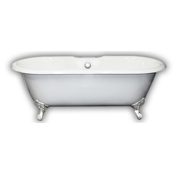 67 x 31 Clawfoot Bathtub by Cambridge Plumbing