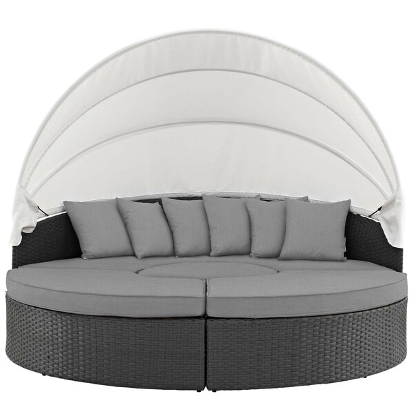 Tripp Patio Daybed With Sunbrella Cushions By Brayden Studio