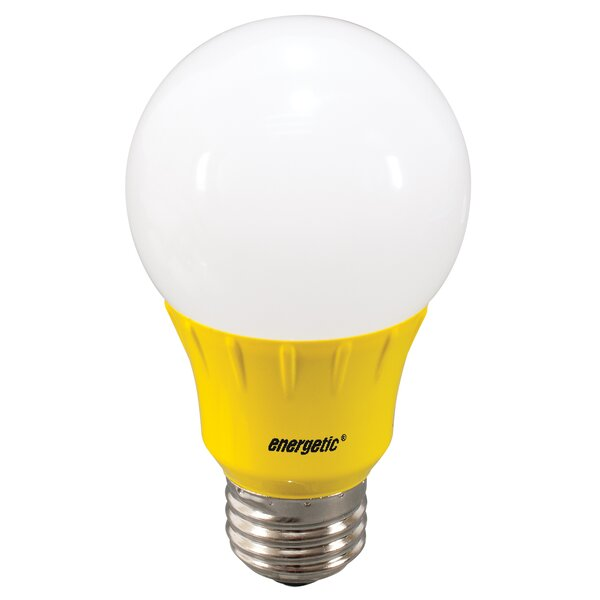 Yellow Party Light Bulb by Energetic Lighting