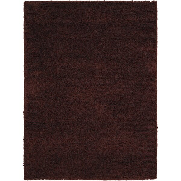 Atkins Hand-Tufted Chocolate Area Rug by Darby Home Co