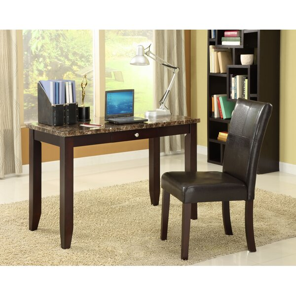 Elegant Writing Desk and Chair Set by Wildon Home ®
