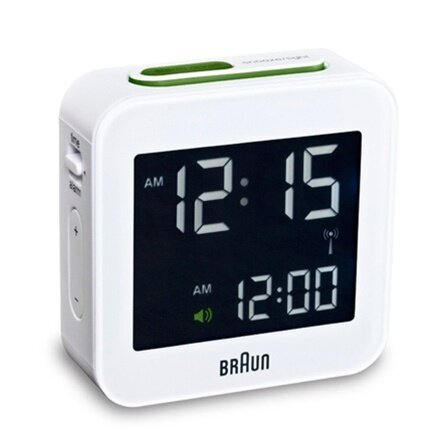 Digital Alarm Clock by Braun
