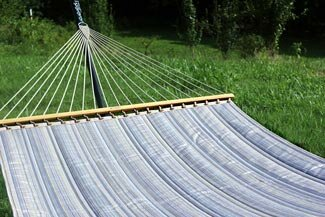 Sunbrella Double Speader Bar Hammock by Twin Oaks Hammocks Twin Oaks Hammocks