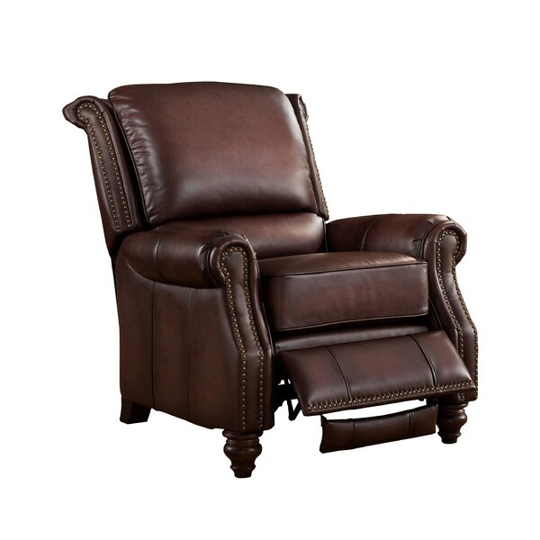 Cornell Leather Manual Recliner by Amax