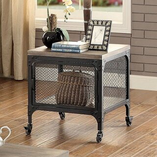 Agnew End Table with Storage by Williston Forge SKU:AD945860 Details