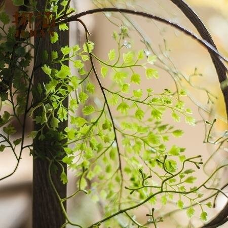 Rustic Artificial Hanging Plant by Gracie Oaks