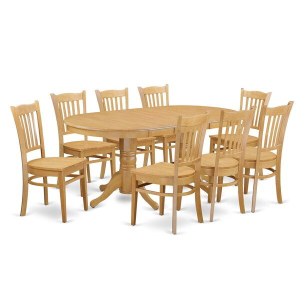 Rockdale Solid Wood Dining Set by Darby Home Co Darby Home Co