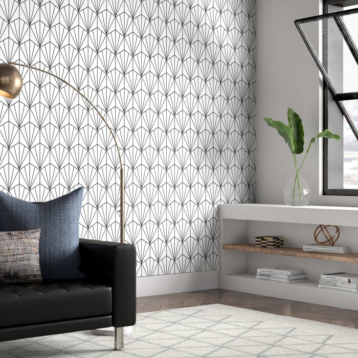 Hartle 48 L X 24 W Peel And Stick Wallpaper Panel