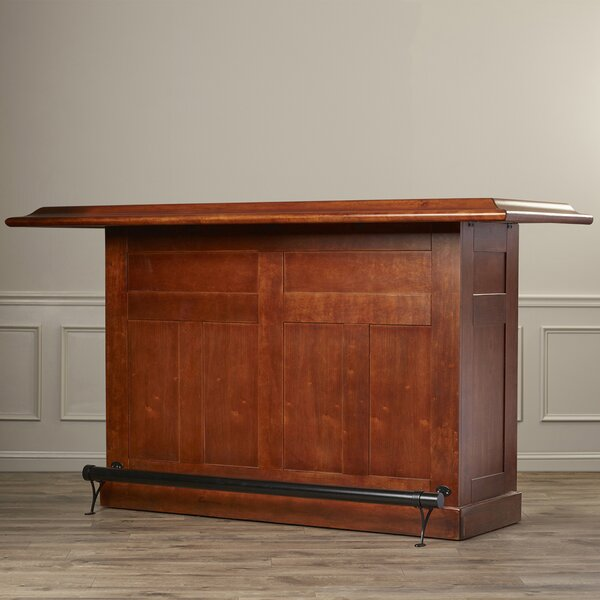 Potomac Home Bar with Wine Storage by Darby Home Co