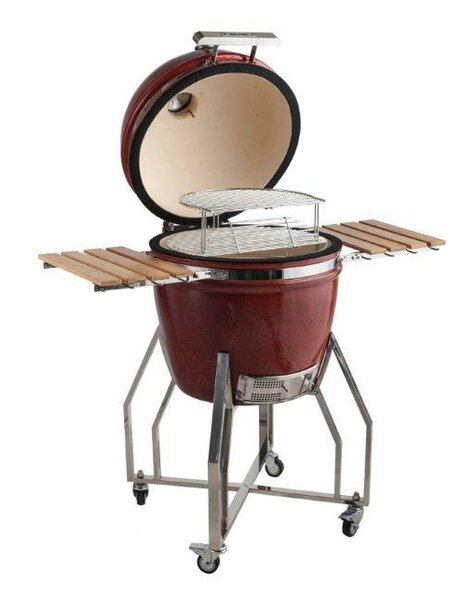 19 Autumn Ceramic Kamado Charcoal Grill by All-Pro