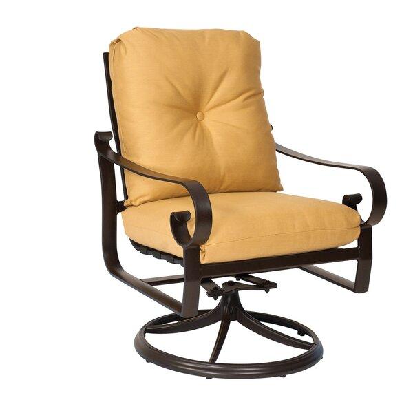 Belden Rocker Swivel Patio Dining Chair by Woodard Woodard