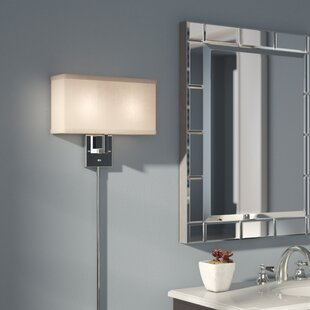 Puccio 2-Light Plug-In Armed Sconce