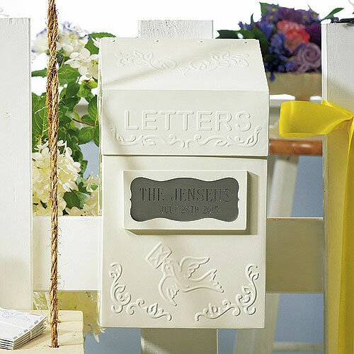 Decorative Letter Box by Weddingstar