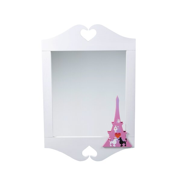 Poodles in Paris Wall Mirror by Room Magic