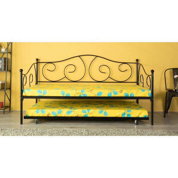 Lazaro Twin Daybed with Trundle by August Grove August Grove