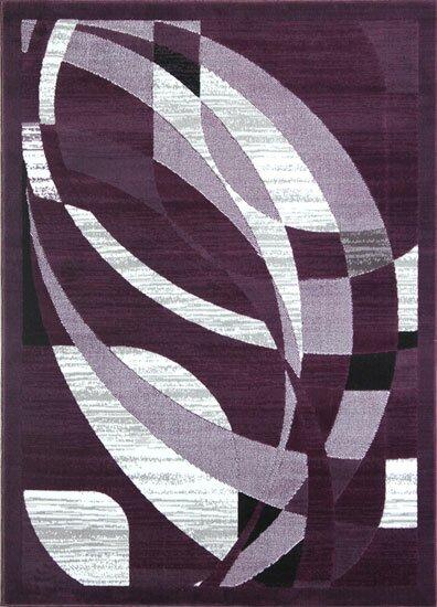 Mccomb Purple/gray Area Rug By Orren Ellis.