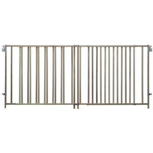 Extra Wide Stairway Swing Gate by North States
