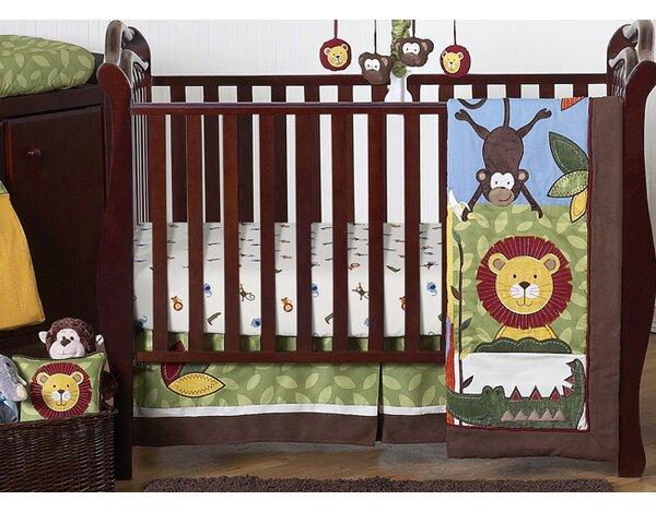 Jungle Time 11 Piece Crib Bedding Set by Sweet Jojo Designs