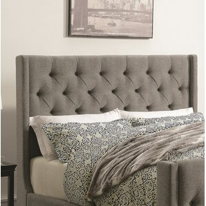 Ottis Upholstered Panel Headboard by Darby Home Co