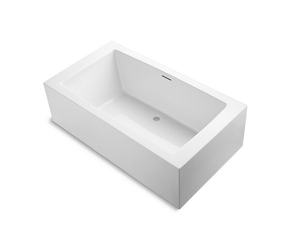 One™ 79 x 49 Freestanding Soaking Bathtub by Kallista