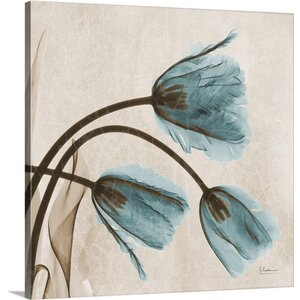 Tulip X-Ray by Albert Koetsier Photographic Print on Canvas by Great Big Canvas