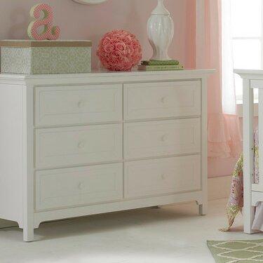 Ti Amo 6 Drawer Double Dresser by Ti Amo