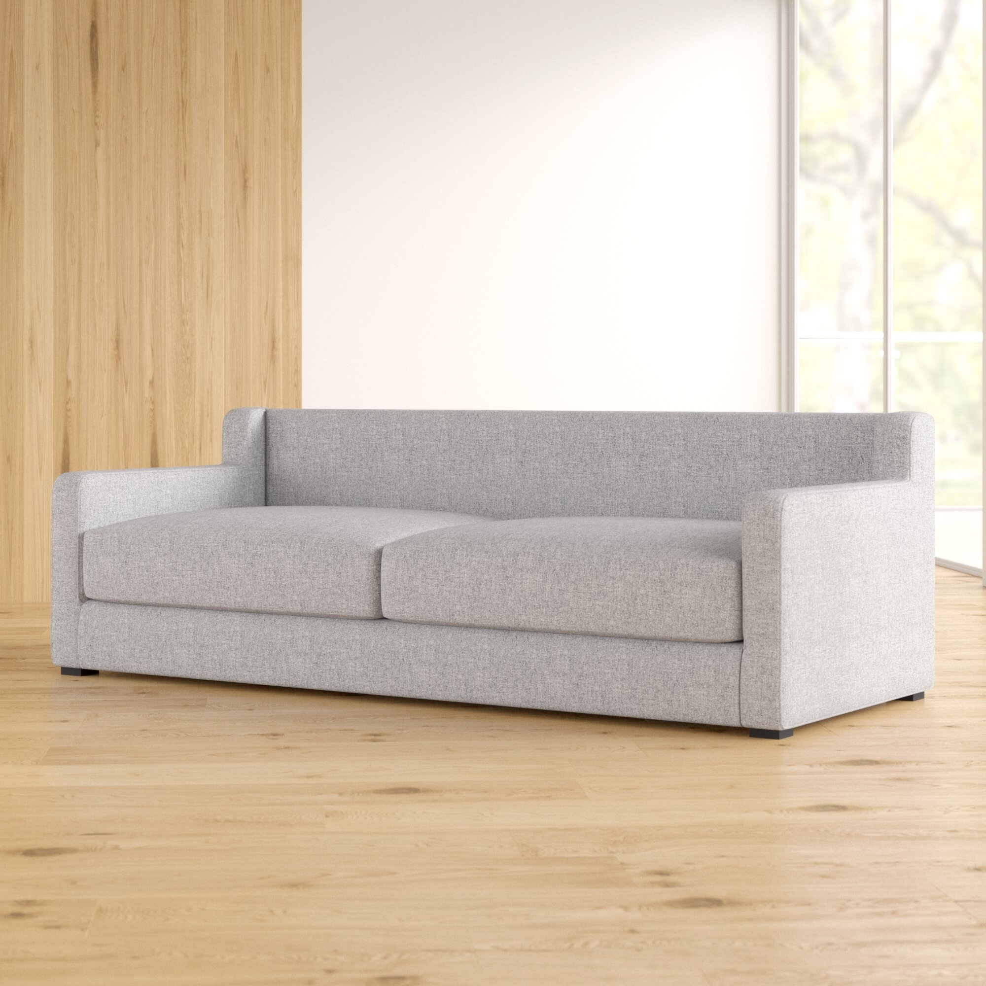 Gus Modern 86 Square Arm Sofa Bed