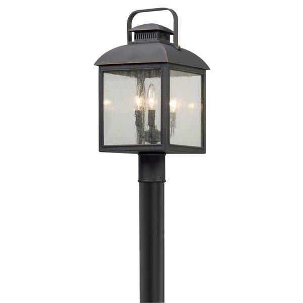 Koffi Outdoor 3-Light Lantern Head by Gracie Oaks