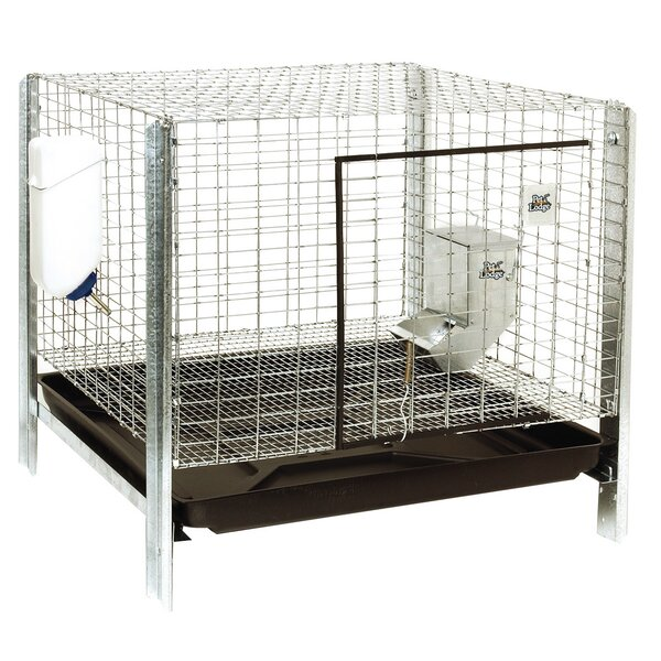 Rabbit Hutch Complete Kit by Miller Mfg