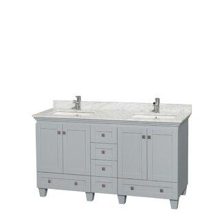 Bargain Acclaim 60 Double Bathroom Vanity Set ByWyndham Collection