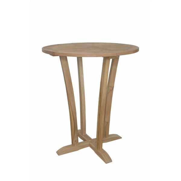 Descanso Teak Wood Bar Table by Anderson Teak
