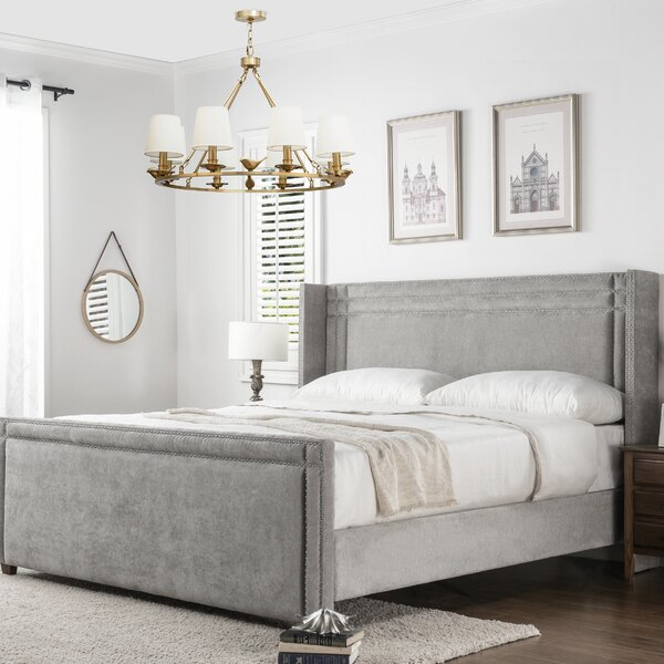 Kelvin Upholstered Standard Bed by Willa Arlo Interiors
