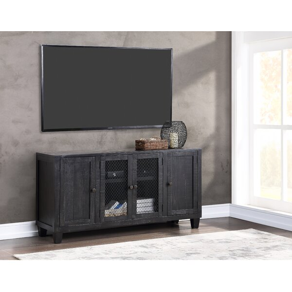 Outdoor Furniture Rayburn Solid Wood TV Stand For TVs Up To 75