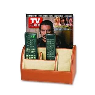 Mens Leather Goods Multimedia Remote Control Holder by Budd Leather