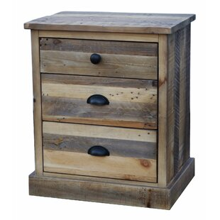 Worcester 3 Drawer Nightstand by Loon Peak
