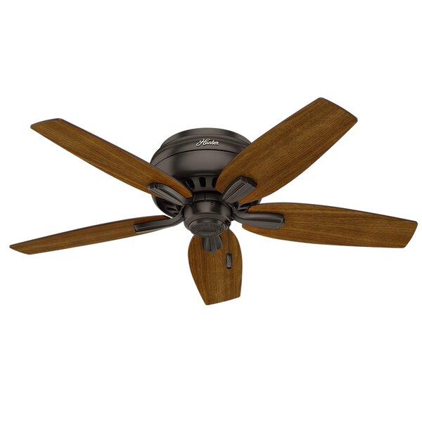 42 Newsome Low Profile 5-Blade Ceiling Fan by Hunter Fan