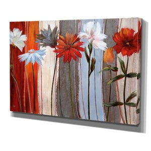 Spring Debut by Nan Painting Print on Wrapped Canvas by Wexford Home