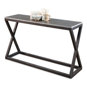Lewis Cross Console Table by Sarreid Ltd
