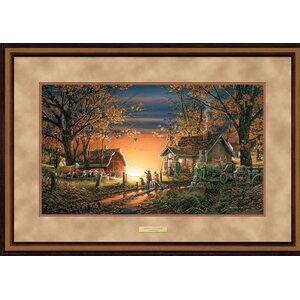Morning Surprise by Terry Redlin Framed Painting Print by Wild Wings