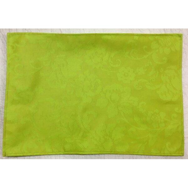 Nobla Coated Lime Placemat (Set of 6) by La Maisonnette