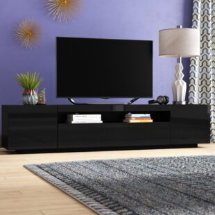 Bustillos Modern High Gloss Front TV Stand for TVs up to 79