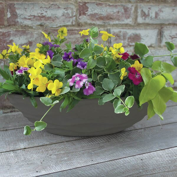 Urban Wave Ceramic Pot Planter by Syndicate Sales