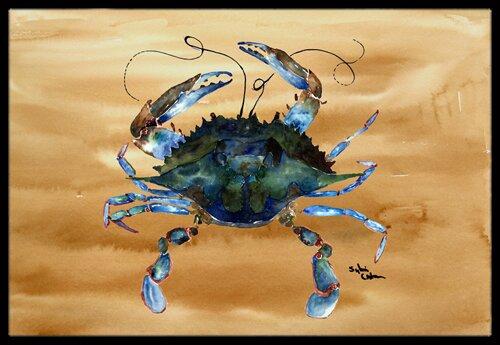 Crab Doormat by Caroline's Treasures