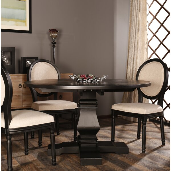 Thorne Round Kitchen Dining Table by One Allium Way